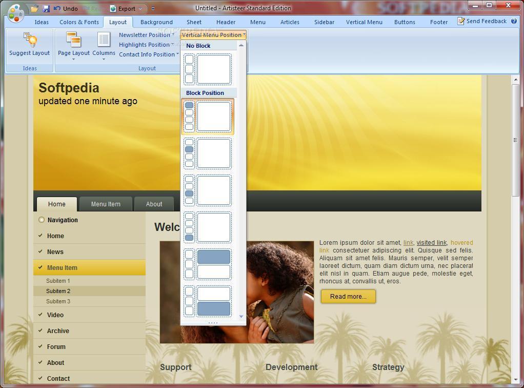 Программа для создания шаблонов сайтов artisteer северная компания рязань официальный сайт новостройки ипотека