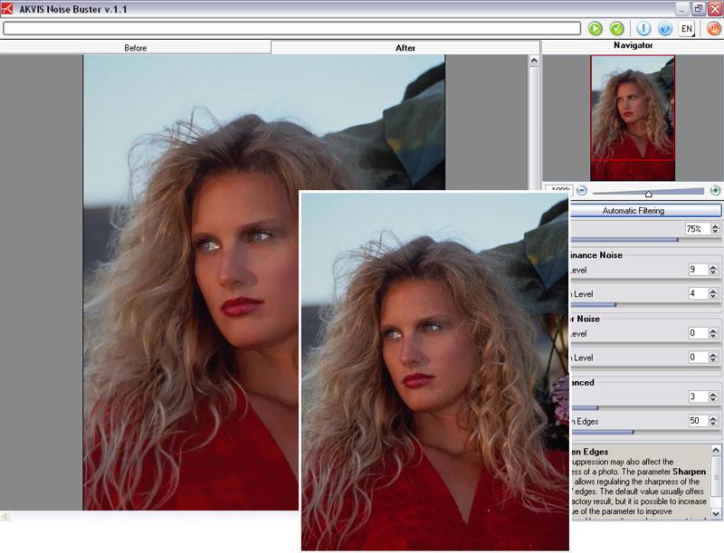 как убрать шум на фотографии в photoshop