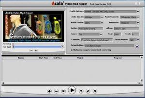Acala Video MP3 Ripper 2.9.1