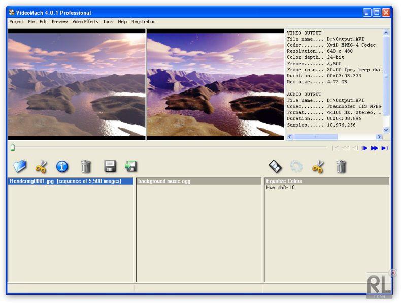 Videomach v5.0.0 Professional.