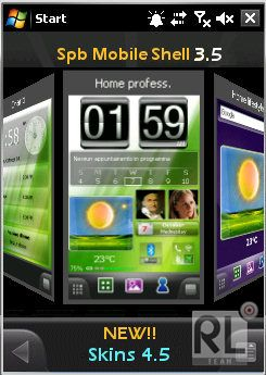 RELEASE Change Skin 4.5+ Freeware for Spb Mobile Shell 3x