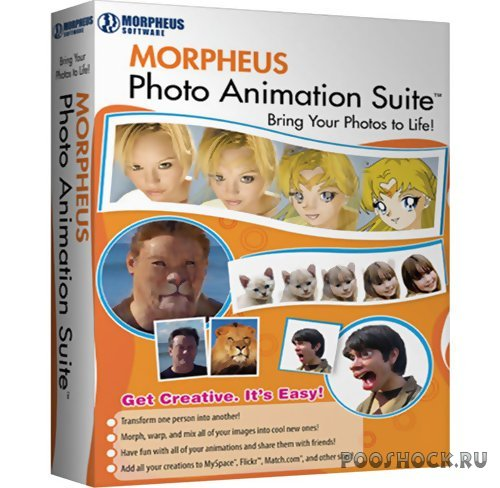 Скачать Morpheus Photo Animation Suite Pro v3.11 Build 4142 бесплатно.