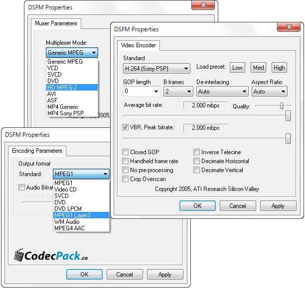 AMD Media Codec Package 11.12 скачать бесплатно