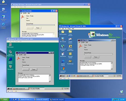 Microsoft virtual pc скачать