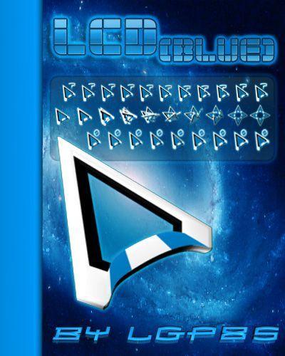 О схеме: Красивые курсоры для Windows.  Софт.  Серия.