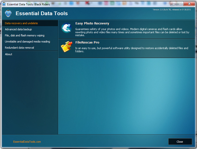 Essential Data Tools 2.6 Build 96 скачать бесплатно