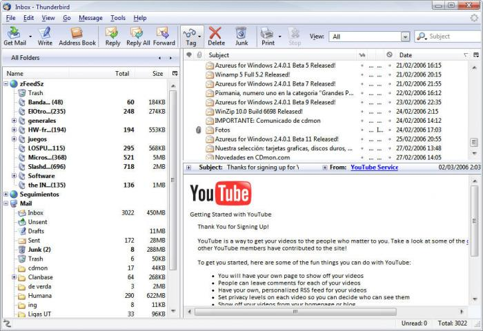 Mozilla thunderbird 60. 5. 0 final free download software reviews.