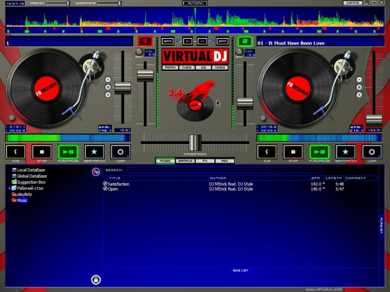 Virtual dj 3