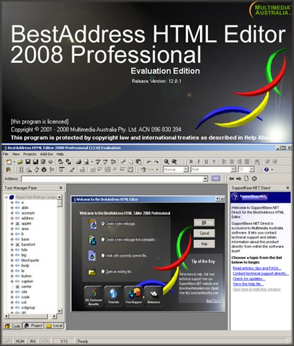 BestAddress HTML Editor 2008 Professional 12.2.0