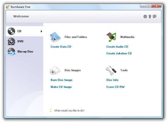 BurnAware Free 3.3.1 скачать бесплатно
