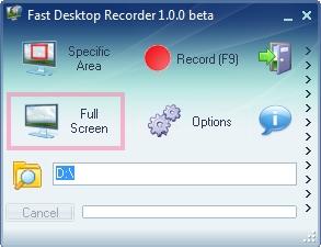 Fast Desktop Recorder v1.0.0 скачать бесплатно