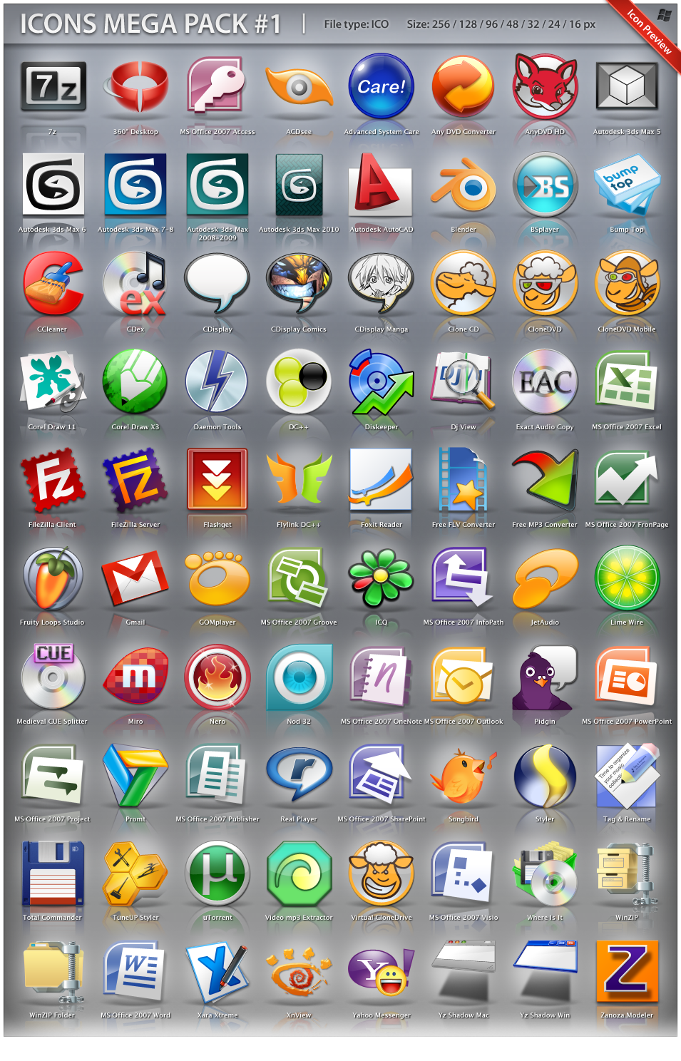 бесплатная программа для иконок: