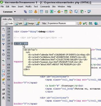 Macromedia Dreamweaver 8 02 русская версия скачать