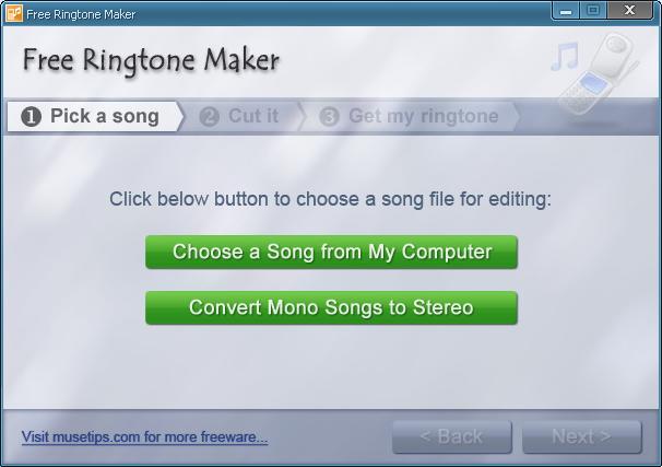 Free Ringtone Maker 2.1 скачать бесплатно
