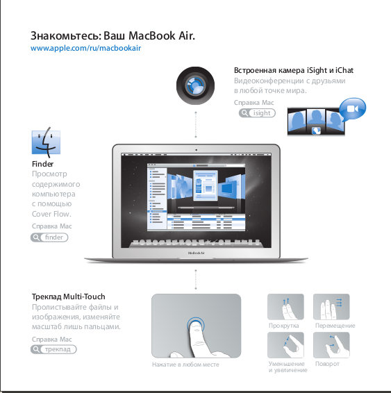 APPLE MACBOOK AIR MACBOOK AIR 11 USER MANUAL Pdf Download
