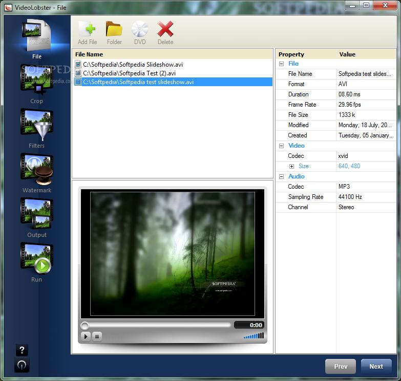VideoLobster 1.0 скачать бесплатно
