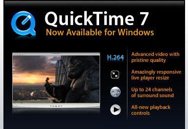 Apple bit loi nghiem trong trong QuickTime.