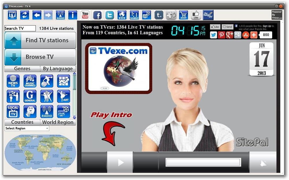 Программа Для Просмотра Tv На Андроид Интер