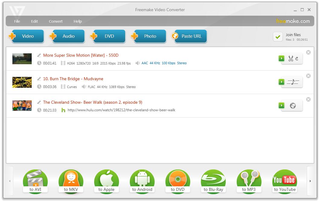 Freemake Video Converter 3.0.0.3 скачать бесплатно