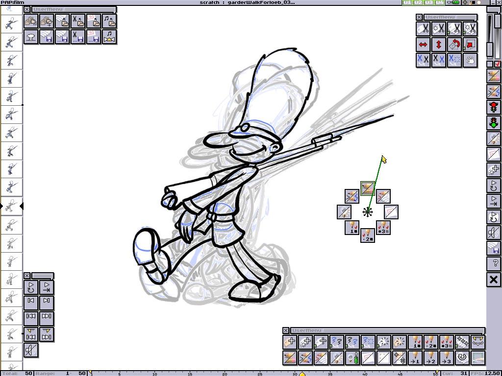 Как делать анимашки на компьютере, мужчина