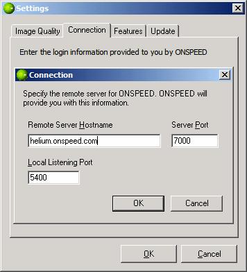 Onspeed - это связующее звено между пк и прокси-сервером разработчиков onspeed