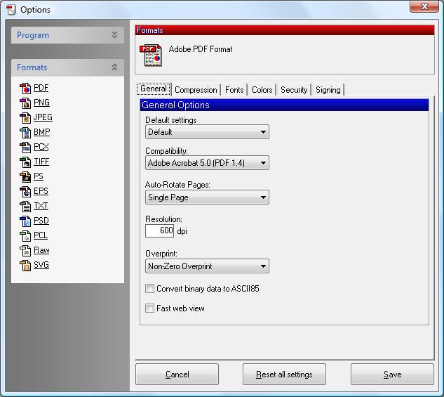 PDFCreator 1.3.2 скачать бесплатно