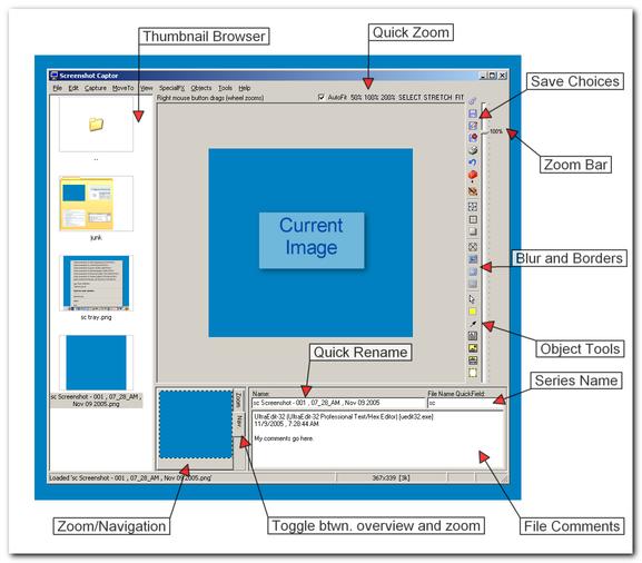 Screenshot Captor 3.04.01 скачать бесплатно