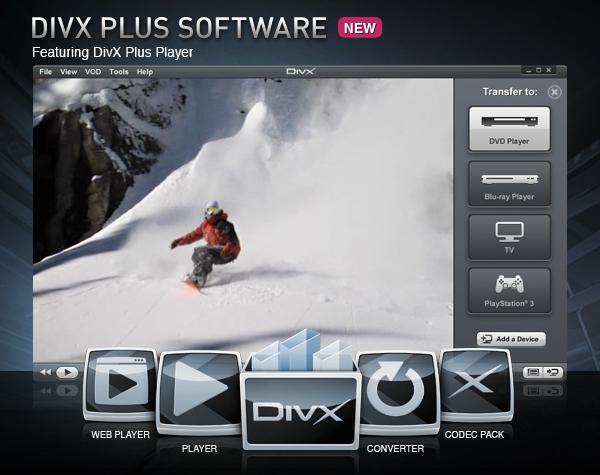 DivX Plus 10.1.1 Build 1.10.1.523 скачать бесплатно