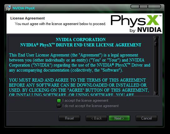 Nvidia PhysX System Software 9 14 0702 - скачать бесплатно