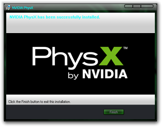 скачать nvidia physx legacy system software скачать