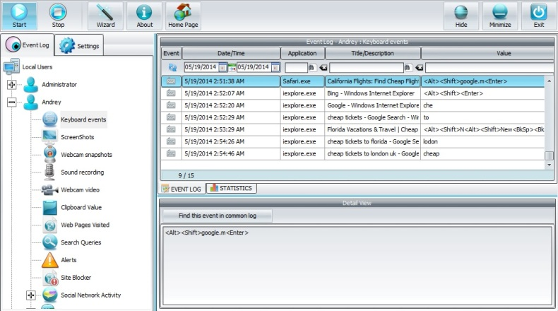 Spyrix Free Keylogger 6.2.1 скачать бесплатно
