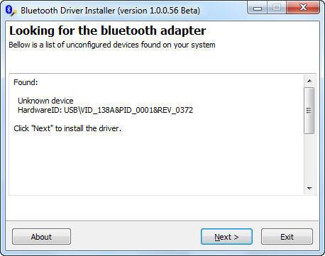 Atheros Bluetooth Driver 7.4.0.125 (Драйвер для bluetooth (блютуз .